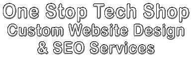 One Stop Tech Shop Custom Website Design & SEO Services